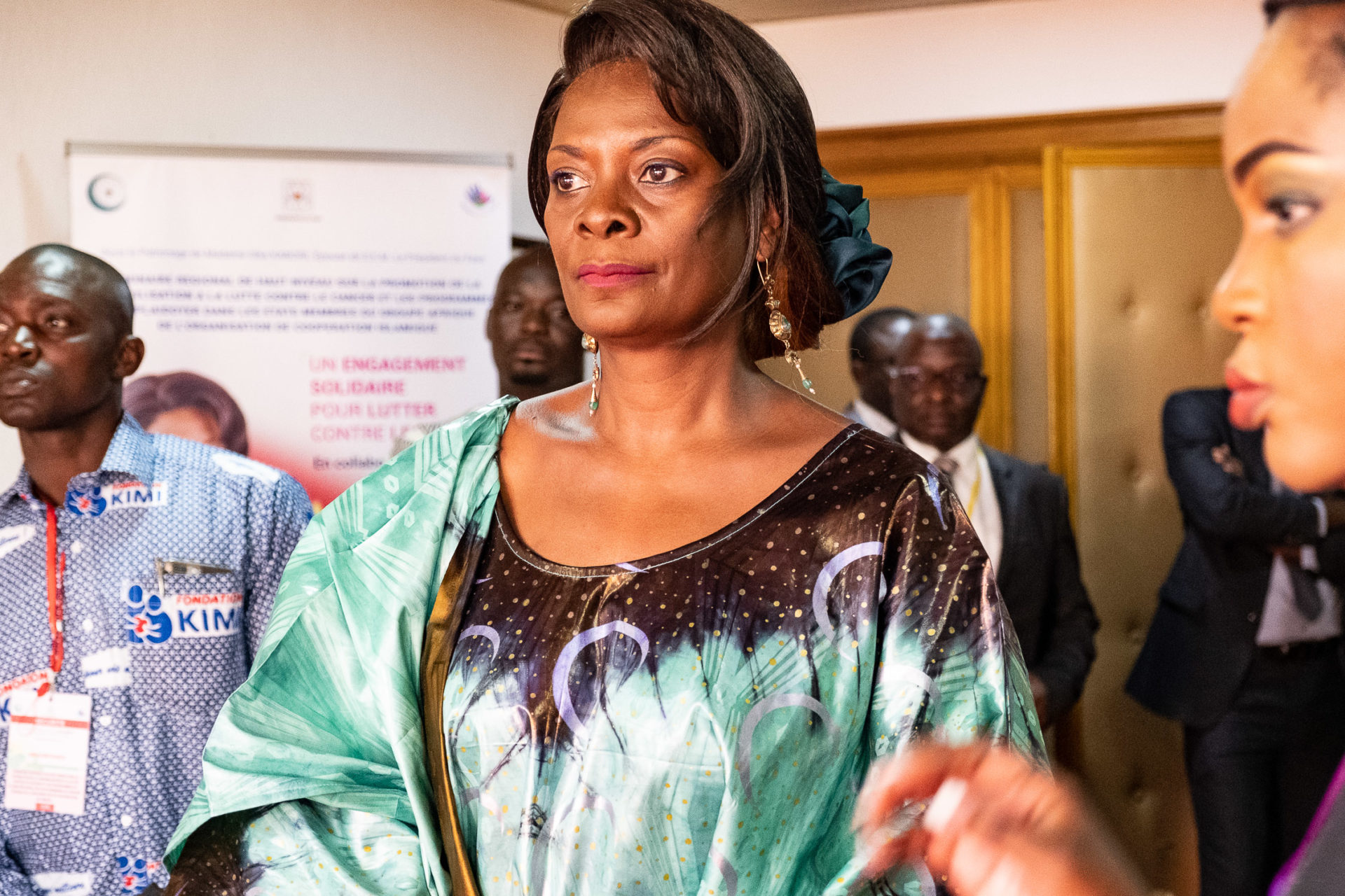 Sika Bella Kaboré,  1ère Dame du Faso