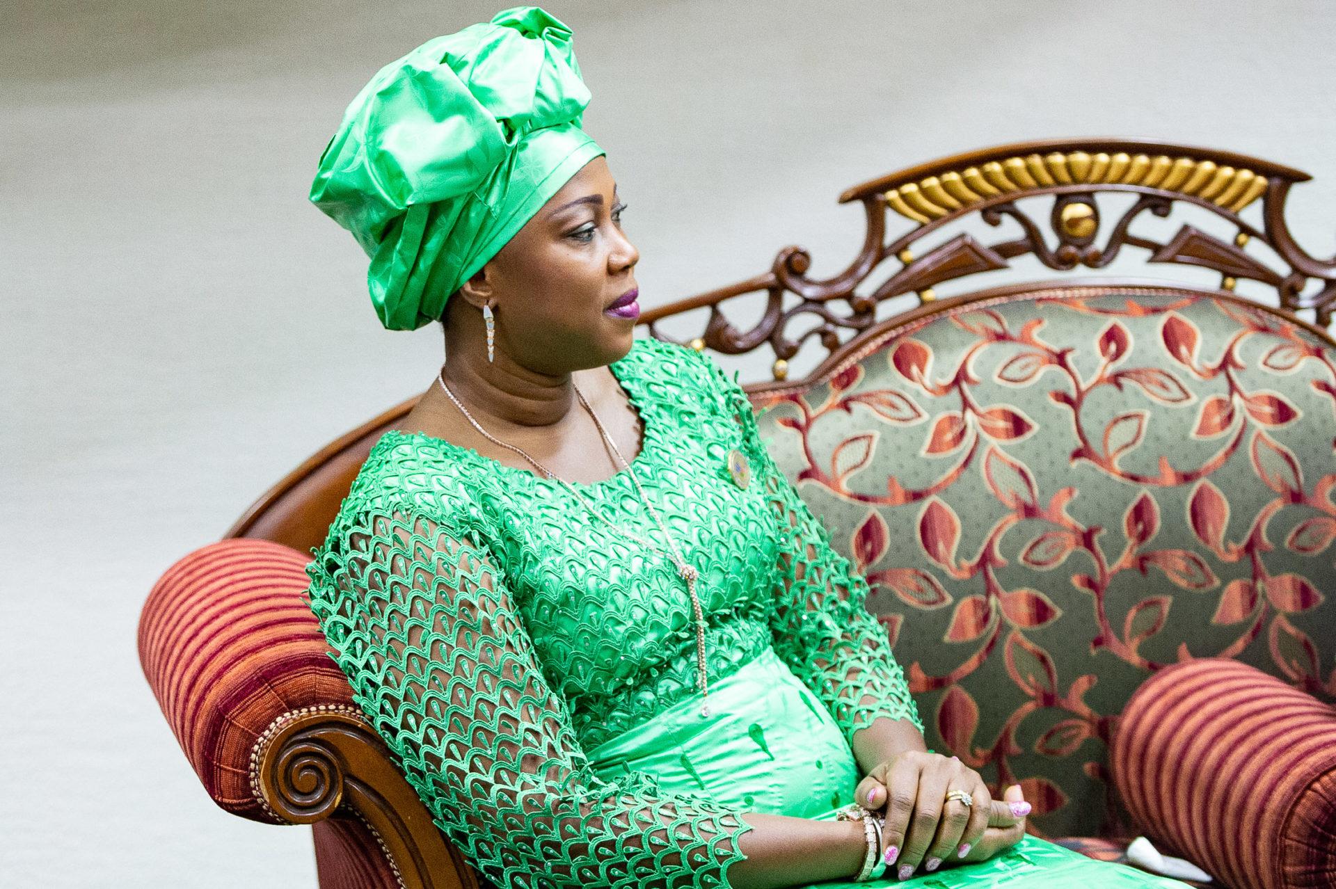 BURKINA FASO - LES 1ERES DAMES D'AFRIQUE A OUAGADOUGOU POUR LUTTER CONTRE LE CANCER.